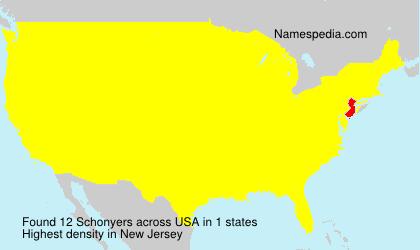 Schonyers