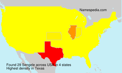 Surname Sengele in USA