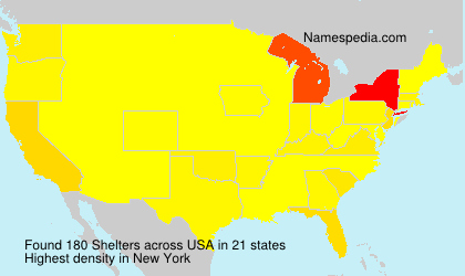 Surname Shelters in USA