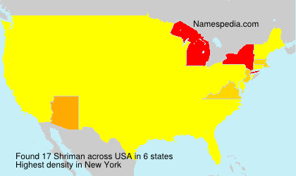 Surname Shriman in USA