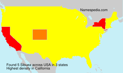 Surname Sibuea in USA