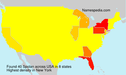 Surname Spolan in USA