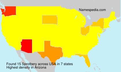 Sprotbery - USA