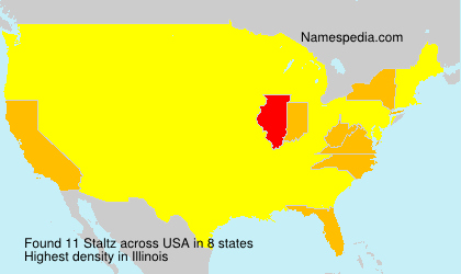 Surname Staltz in USA