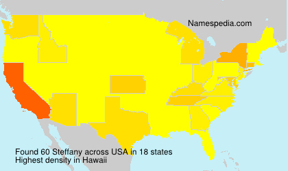 Surname Steffany in USA