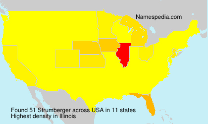 Surname Strumberger in USA
