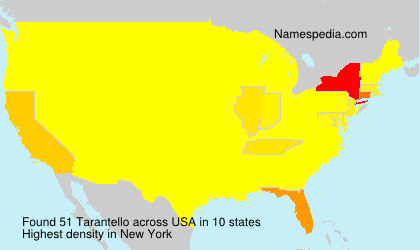 Surname Tarantello in USA