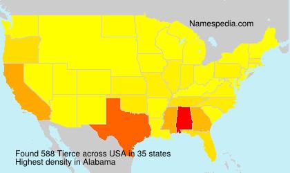 Tierce - Names Encyclopedia