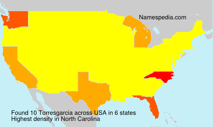 Surname Torresgarcia in USA