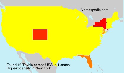 Surname Tovbis in USA
