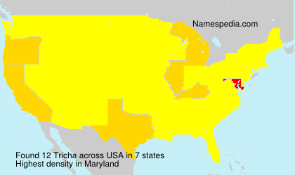 Surname Tricha in USA