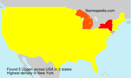 Surname Uggeri in USA