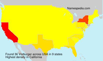 Vorburger - USA