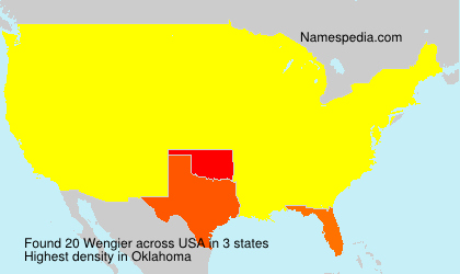 Surname Wengier in USA