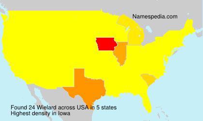 Surname Wielard in USA