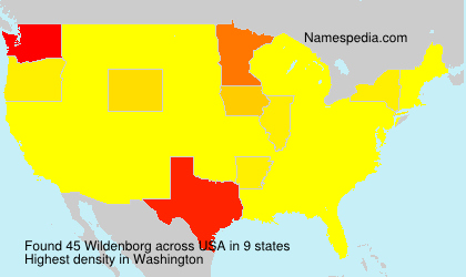 Wildenborg - USA
